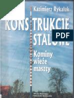 Konstrukcje Stalowe. Kominy, Wieże, Maszty - K.rykaluk