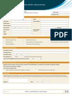 3 2 Exam Entry Applicationc
