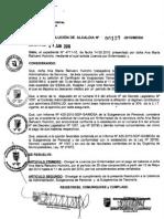 RESOLUCION DE ALCALDIA 127-2010/MDSA