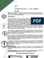 RESOLUCION DE ALCALDIA 128-2010/MDSA