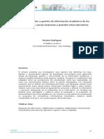 Búsqueda, Selección y Gestión de Información Académica