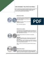 Diferentes Clases de Moneda y Billetes de Guatemala