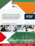 Directiva de Quioscos Escolares