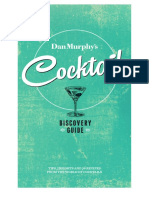 Dan Murphy's - Cocktail Guide