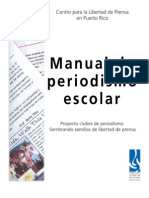 Manual de Periodismo Escolar 1era edición