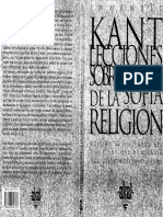 Kant, Immanuel - Lecciones sobre la filosofia de la religion.pdf
