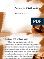Rule 3 Parties to Civil Action 12 22