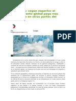 Cambio Climático- Patagonia