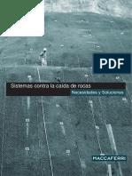 Brochure BR Sistemas Contra La Caida de Rocas SP Mar11