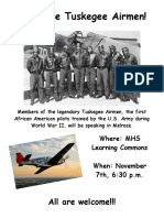 Tuskegee Airmen poster 3
