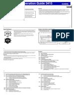 Manual - Casio Protrek Prg270-7