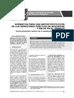 21.- LA SEGURIDAD Y SALUD EN EL TRABAJO DENTRO DEL EMPLEO PÚBLICO,  NORMATIVA A TOMAR EN CUENTA.pdf
