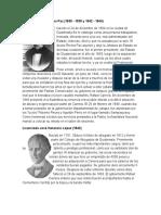 20 Biografaís de Los Presisdentes