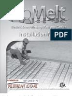 Pexheat/WattsRadiant ProMelt Manual-En-20090415