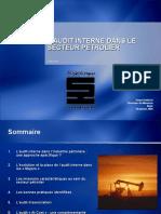 L'Audit Interne Dans Le Secteur Pétrolier Serge