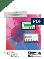 Aromat_10-40_HMI_Manual