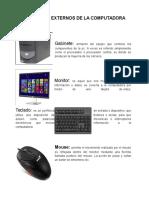Componentes Externos de La Computadora