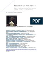 Catequésis Mariana de San Juan Pablo II