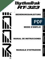 Zoom RT-323 Español