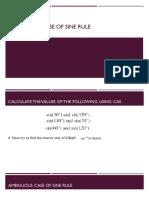 ambiguous case of sine rule