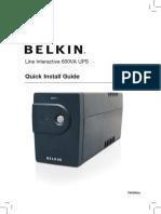 Manual - Belkin f6u600au User Manual