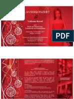 Einladung KONZERT Pianistin Vedrana Kovac Donnerstag 10 12 2015