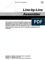TI PHM3058 Line by Line Assembler