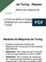 Teoria4_a - Modelos de Maquina de Turing