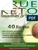 Skye Howard - TRUE KETO - Smoothies & Shakes