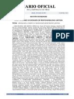 Documento Diario Oficial