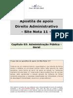 Capítulo 03- Administração Pública na Constituição - Disposições Gerais.pdf