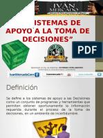 3- Sistemas de Apoyo a La Toma de Decisiones