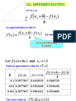 06 Numerical Differentiation Integration (1)