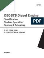 De 08 TS Diesel Engine _ Specification System Operation Testing and Adjusting _ DOOSAN
