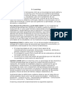 E Learning (Completo)