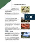 Diversidad Biológica.ecorregiones.recursos Naturales