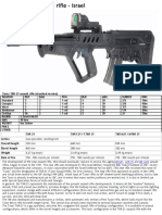 Tavor TAR-21 Assault Rifle - Israel