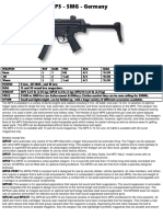 Heckler and Koch MP5 - SMG - Germany