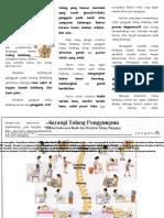 Leaflet Perawatan Tulang Punggung