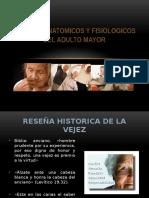 Cambios Anatomicos y Fisiologicos Del Adulto Mayor