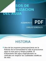 Procesos de Potabilizacion Del Agua