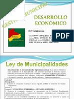 Gestion Municipal Desarrollo Economico1