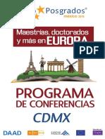 Programa CDMX