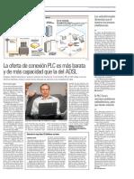 PLC (Internet a traves de la red electrica)