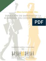 Características de Dirección de empresas en la Economía del conocimiento.pdf