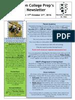 Newsletter - Week 10