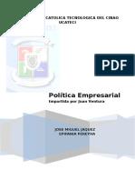 Politicas Cárnicos Don José s