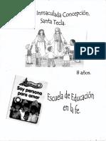 3er Nivel - Catequesis Infantil - 8 Años (Niño)
