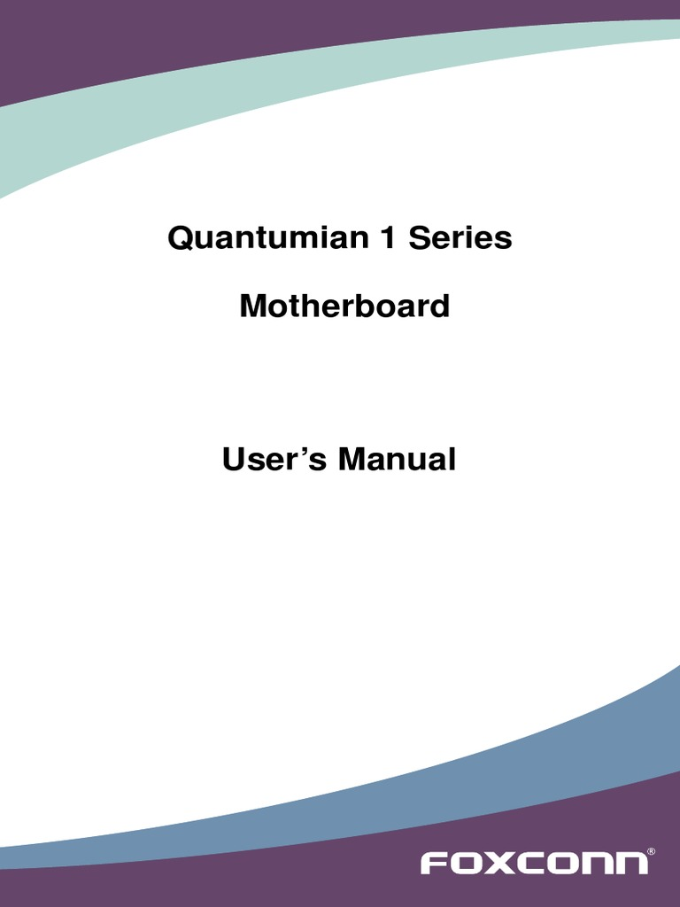 Quantumian 1 Manual En V10pdf Bios Usb Ecs P4m800pro M Motherboard Schematic Diagram