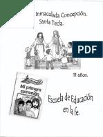 6to Nivel - Catequesis Infantil - 11 Años (Niño)